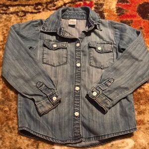 Other - Carter's 5T denim button up